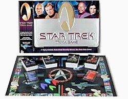 Star Trek Trivia Game in large collectible tin
