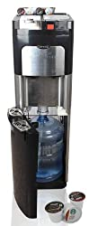 Estratto Commercial Single Serve Coffee Maker & Stainless Water Cooler made by Electrotemp