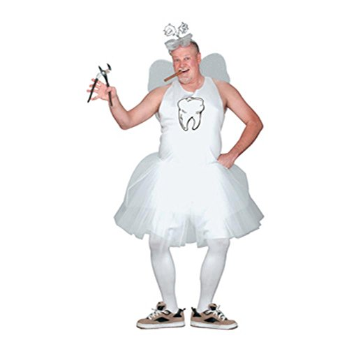 Mens Plus Size Tooth Fairy Costume (Size: X-Large 48-50)