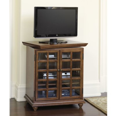 Devon Swivel Media Cabinet- Ballard Designs