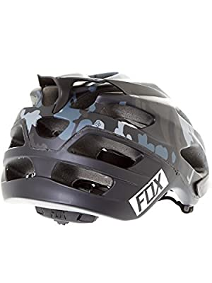 Fox Flux Mountain Bike Helmet Gentlemen black 2016 Mountain Bike Cycle Helmet by Fox
