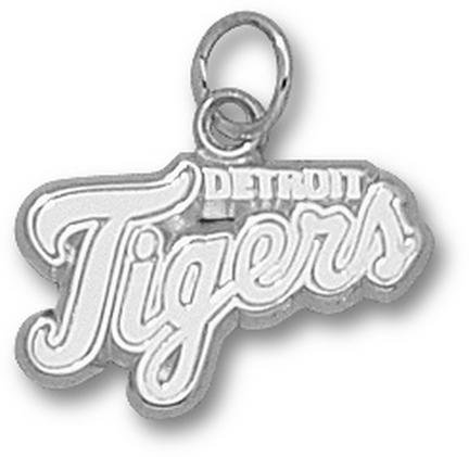 Detroit Tigers MLB Sterling Silver Charm