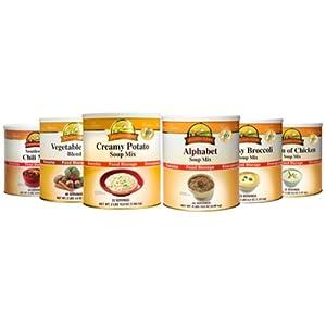 Augason Farms Soup Variety 6-Pk. by Augason Farms