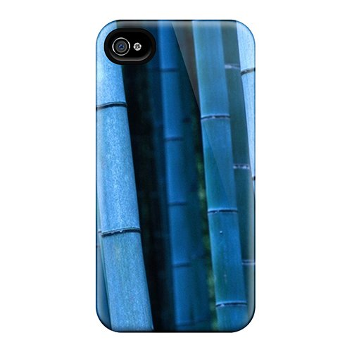 Hot Vxcmlcg5600Ivglw Bamboo Sticks Tpu Case Cover Compatible With Iphone 4/4S front-778953