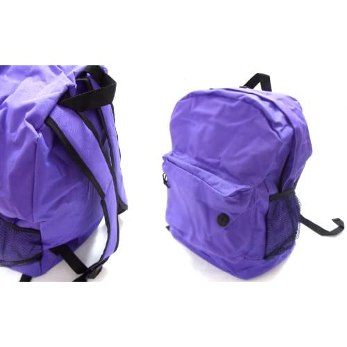Kids Childrens Junior Backpack Rucksack Sport Gym PE Book School Bag Smart 'Built In Slot For Earphones Headphones...