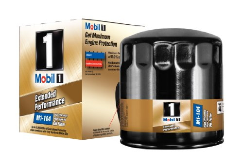 Mobil 1 M1-104 Extended Performance Oil Filter, Pack of 2