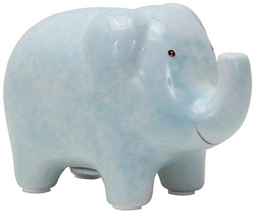 Child to Cherish Mini Elephant Bank, Blue - 1
