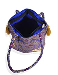 Felicita Traditional Original Banarasi Silk Party Bag