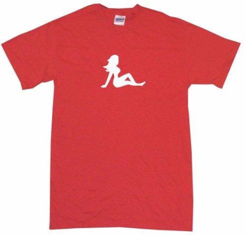 Trucker Mud Flap Girl Logo Little Boy's Kids Tee Shirt 3T-Red