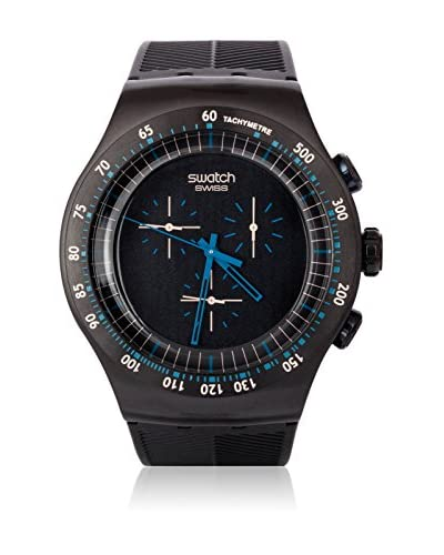 Swatch Quarzuhr Man BLUE IN DARK YOB103 47 mm