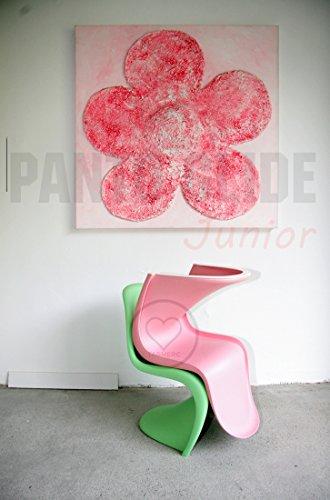 Panto-Glide-Junior-Filzgleiter-Tagwerc-Panton-Junior-von-vitra-Panton-Stuhl-von-Verner-Panton-Kinderstuhl-Panton-Chair-Filz-Freischwinger-Mbelgleiter-weiss