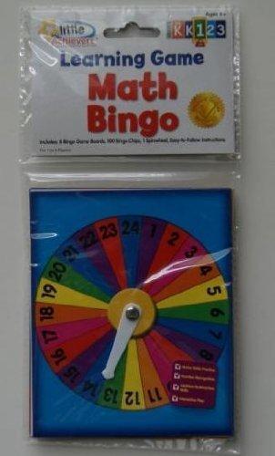Little Achievers Math Bingo Learning Game