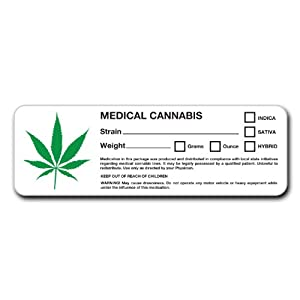 for Identifying Marijuana, Pot, and Weed Containers : Office Products