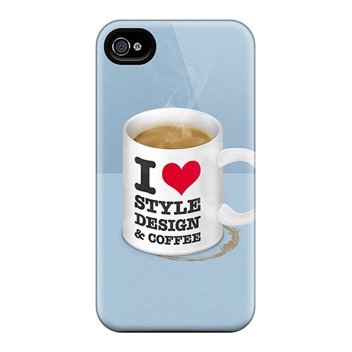 Abrahamcc Snap On Hard Case Cover Coffee Mug Protector For Iphone 4/4S