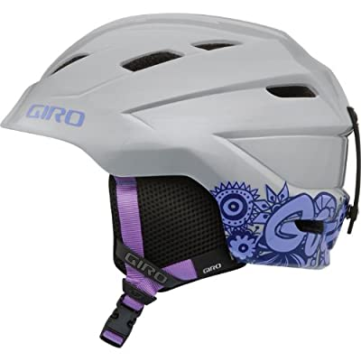 Giro Nine.10 Jr Girl Youth Helmet In Silver Doodle Medium, Silver Doodle Girl from Giro
