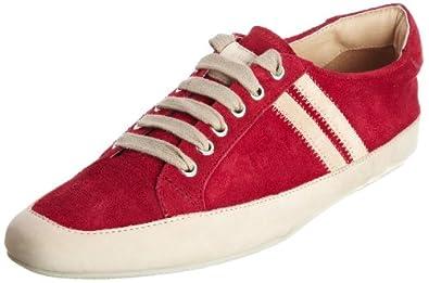 Emma Hope 191-11037 - Zapatillas de deporte de cuero para mujer, color rosa, talla 35.5