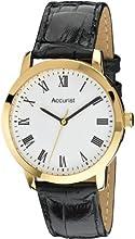 Comprar Accurist MS675WR - Reloj de cuarzo para hombres, correa de cuero, color negro