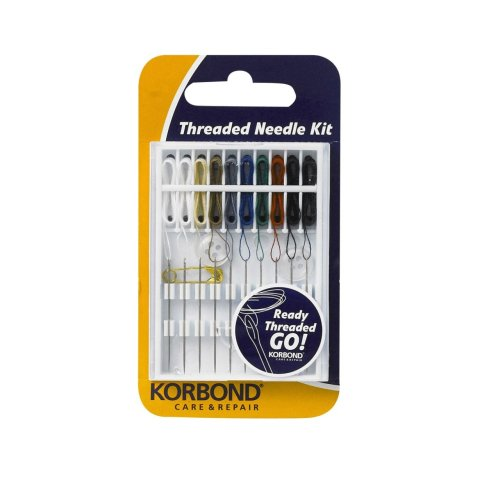 10 Piece Threaded Needle Kit (Threaded Sewing Needles compare prices)