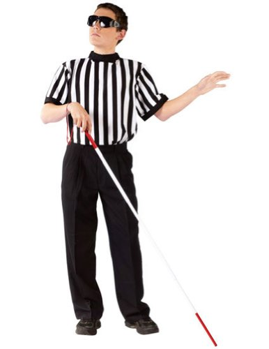 boys - Blind Referee Boy Halloween Costume - Most Children