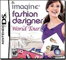 New Ubi Soft Imagine Fashion Designer World Tour Nintendo DS Design Your Brand Become Fashion Expert