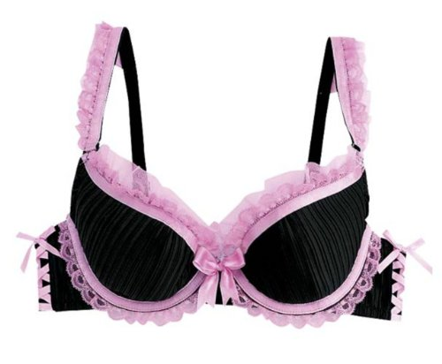 Aimerfeel-soutien-gorge-pliss-lingerie-noir-avec-bordure-en-dentelle-rose-trs-fminin