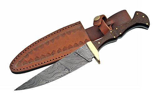 SZCO Supplies DM-1101 Damascus Steel Wizard's Dagger