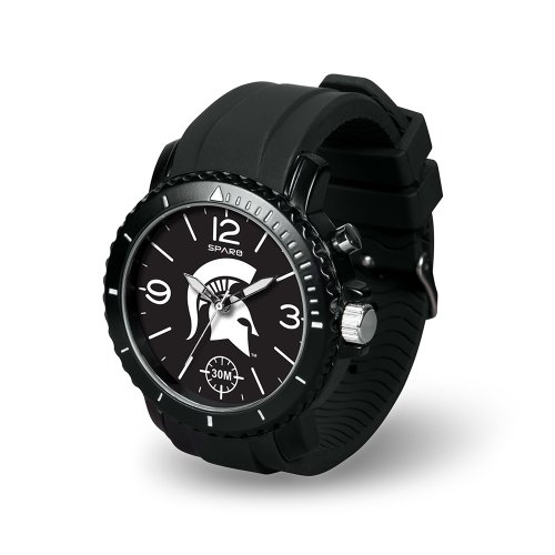 Ncaa Michigan State Spartans Ghost Watch, Black