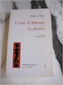 l'exil d'albouri de cheik aliou ndao pdf