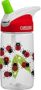 CamelBak Kid's Eddy Water Bottle, Ladybugs, .4-Liter