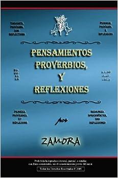Pensamientos, Proverbios, y Reflexiones (International Edition