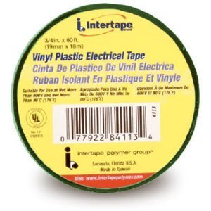 ipg-4113-vinyl-all-purpose-electrical-tape-6-length-x-3-4-width-green-by-intertape
