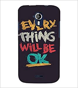 PRINTSWAG QUOTE Designer Back Cover Case for MICROMAX A116 CANVAS HD