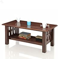 Royal Oak Sydney Coffee Table with 1 Shelf (Brown)