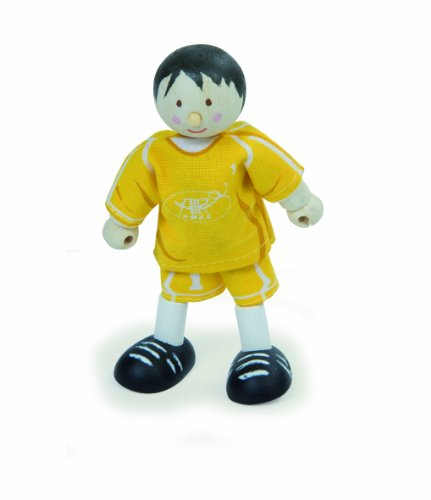 Budkins Goal Keeper Toy Figure, Yellow