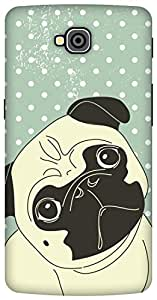 The Racoon Grip Pug Life hard plastic printed back case / cover for LG G Pro Lite