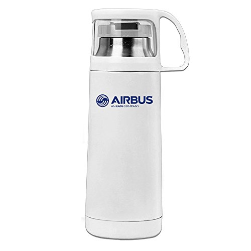 ^GinaR^ 400g Airbus Logo Durable Thermos Cup (Airbus A340 Model compare prices)