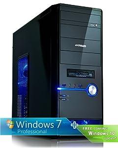 Ankermann-PC SILENT STAR - Intel Core i5-4690K 4x 3.50GHz - ASUS GT730 4GB - 8 GB DDR3 RAM - 2000 GB Hard Drive - DVD-Writer - Windows 7 Professional 64 Bit - Card Reader - EAN 4260219656917