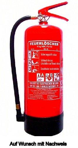 Feuerlscher-6-KG-ABC-Pulver-hohe-Lschleistung-34A183B10-LE-EN3-Norm-mit-Halterung