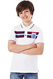 Pure Cotton Official FA England Polo Shirt