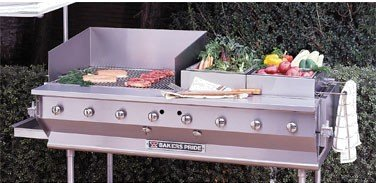 Bakers Pride CBBQ Ultimate Outdoor Gas Char Broiler, 62 x 34 x 16 inch -- 1 each.