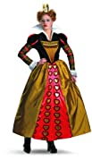Disguise Costumes Women's Red Queen Deluxe (Movie),Multi,L (12-14)