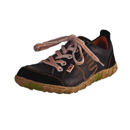 TMA EYES 6636 Schnürer Gr.36-42 mit bequemen perforiertem Fußbett 100% Leder 39.35 super leichter Schuh der neuen Saison. ATMUNGSAKTIV in schwarz Gr. 36