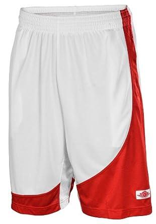 Jordan Nike Mens Air I Muscle Basketball Shorts-White by Jordan