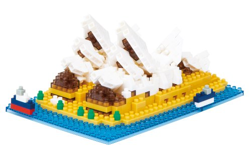 nanoblock Sydney Opera House NBH-052 japan import