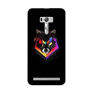 Abhivyakti Animal Wolf Hard Back Case Cover For Asus Zenfone Selfie