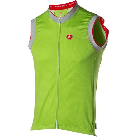 Image of Castelli GPM Cycling Jersey - Sleeveless - Men's (B004XOX178)