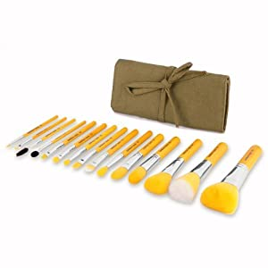 Bdellium Tools Special Edition Bambu Complete Set, Yellow