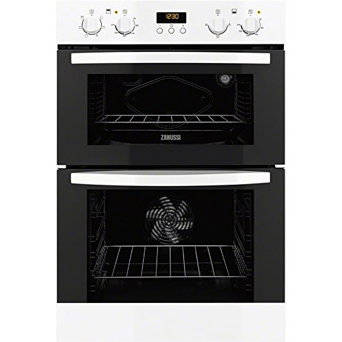 Zanussi ZOD35511WK Built In Double Oven - White. It Will Perfeclty Look Great Built Into Your Kitchen