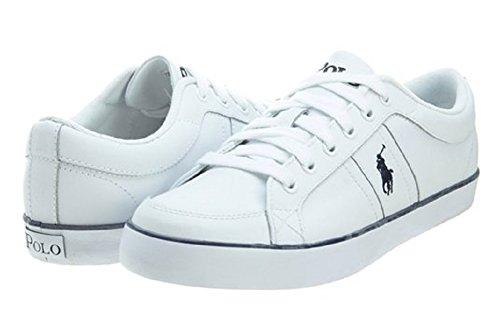 Polo Ralph Lauren - sneakers Uomo in pelle, Bianco (bianco), 42
