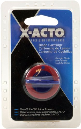 ELMERS X-Acto Replacement Blade Cartridge For Free Form Rotary Cutter, Silver (26520)